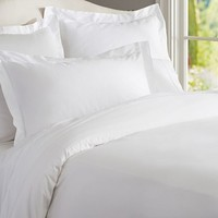 PB ESSENTIAL DUVET COVER, KING/CAL. KING, WHITE