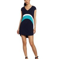 Three Dots Women's Colorblock Tunic dress