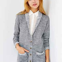 Mouchette French Terry Cardigan - Urban Outfitters