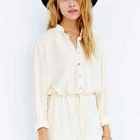 Cooperative Pleat-Front Romper-