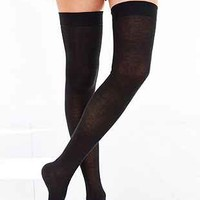 Classic Super-High Over-The-Knee Sock- Black One
