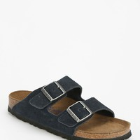 Birkenstock Arizona Denim-Inspired Suede Slide Sandal - Urban Outfitters