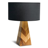 Mugavu And Teak Arrow Lamp | TOMS
