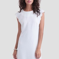 Evermore Scallop Dress
