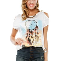 Papaya Clothing Online :: FREE YOUR MIND GRAPHIC TOP