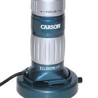 Carson Z-Pix 34-168x Digital Zoom Microscope