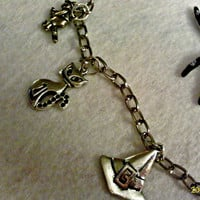 Hallloween Witch Charm Necklace