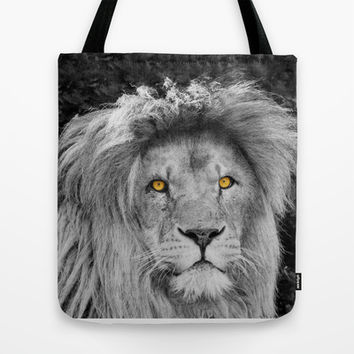 LION BEAUTY Tote Bag by Catspaws | Society6