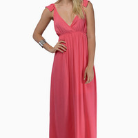 Hearts Aflutter Maxi Dress $70