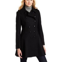 Via Spiga Women's Via Spiga Military Skating Coat