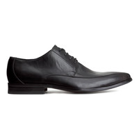 H&M - Derby Shoes - Black - Men