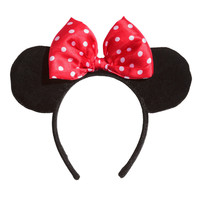 H&M - Hairband - Black/Minnie Mouse - Kids