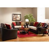 501891SET3 Lily 3 Pcs Living Room Set (Sofa Loveseat and