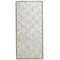 Mirrored Geometric Wall Panel - Champagne
