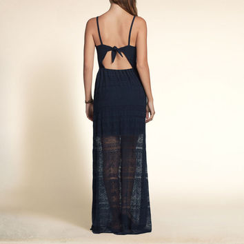 Beach Street Lace Maxi Dress