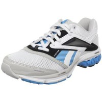 Reebok Women`s Premier Road Supreme 2 Running Shoe,Silver/Malibu Blue/White,5 M US