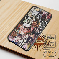 5SOS collage c01 Case for iPhone 4/4S/5/5S/5C, iPod Touch 5, and Samsung Galaxy S3/S4/S5/Note 3 -SND-