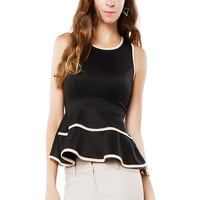 Papaya Clothing Online :: PEPLUM EDGE TOP