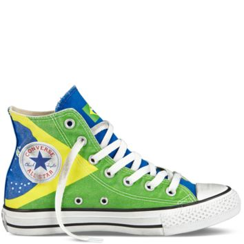 Converse - Chuck Taylor All Star - Hi - Green Multi