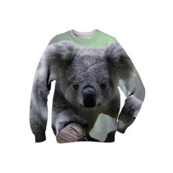 Koala Bear Sweatshirt created by ErikaKaisersot | Print All Over Me