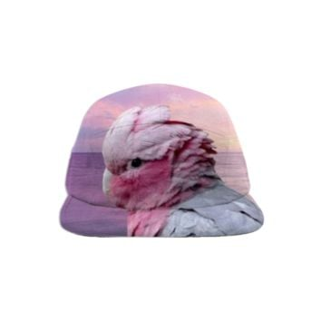 Galah Cockatoo Baseball Hat created by ErikaKaisersot | Print All Over Me