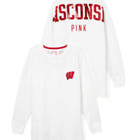 University of Wisconsin Bling Varsity Crew - PINK - Victoria's Secret