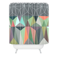 Mareike Boehmer Nordic Combination 31 X Shower Curtain