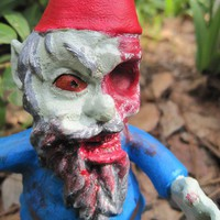 Zombie Gnomes Patient Zero by ChrisandJanesPlace on Etsy