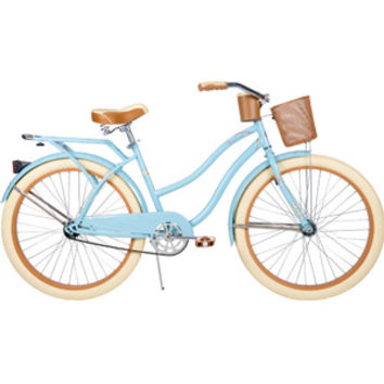 "Walmart: 26"" Huffy Nel Lusso Women's Cruiser Bike, Gloss Blue"