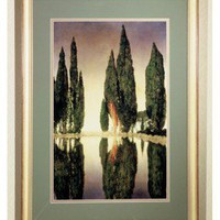 Meyda Tiffany Maxfield Parrish Reservoir Framed Art - 46438 - Decor