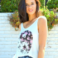 Floral Ying Yang Tank | Shop Civilized