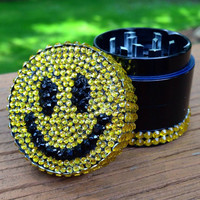 GRINDER -- MINIS Collection -- Smiley Face