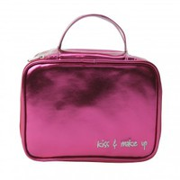 Kiss and Make Up Cosmetic Case