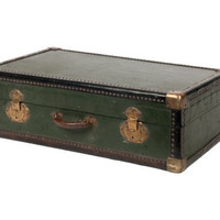 ANTIQUE BELGIAN TRUNK | curiosities | FLEA | Jayson Home & Garden