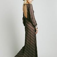 Free People Sandcastle in the Sky Maxi