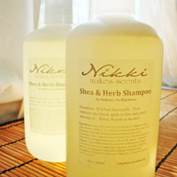 COOL MOUNTAIN AIR  Shea and Herb Shampoo No by nikkicandles