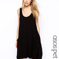ASOS PETITE Basic Pocket Swing Dress