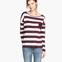 H&M Top in Slub Jersey $17.95