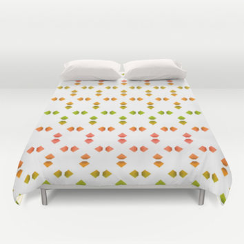 spring pattern   Duvet Cover by VanessaGF