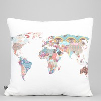 Bianca Green For DENY Louis Armstrong Told Us So Pillow- White One