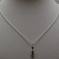 STERLING SILVER JUST RUN - Running Shoe - Sterling Silver pendant on a 16 inch sterling silver ball chain - Additional chain lengths available