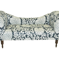 Hutton Chaise, Smoke/White, Chaise Longues
