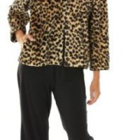 Paddi Murphy Softies - Leopard Bed Jacket