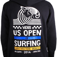 Shop Back Hit Zip-Up Hoodie by US Open 2014 (#VN-0ZFN) on Jack's Surfboards