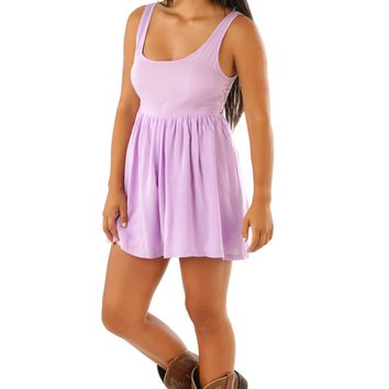 Laced In Lavender Dress