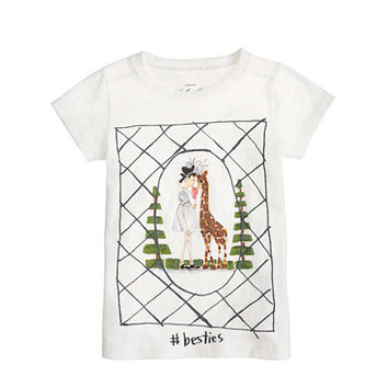 Donald Robertson For crewcuts Besties Tee