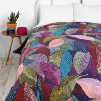 UrbanOutfitters.com > Dot Leaves Duvet Cover