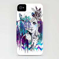 Tribal Girl - Colourway - iPhone Case by Holly Sharpe | Society6