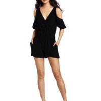 Twelfth St. by Cynthia Vincent Women's Cold Shoulder Romper
