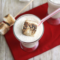 Tracey's Culinary Adventures: Toasted Marshmallow Milkshake